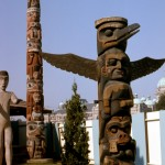 A welcoming totem