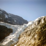 Angel glacier on Mt Edith Cavell