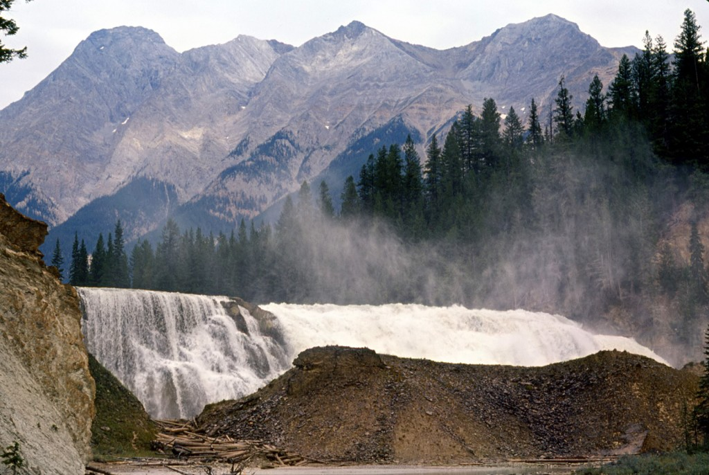 Chancellor peak and Wapta falls - dads pick