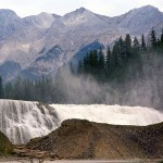 Chancellor peak and Wapta falls