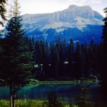 Emerald lake, Mt Burgess and the Burgess Shales