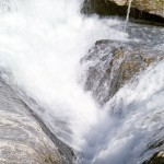 Falls at natural bridge