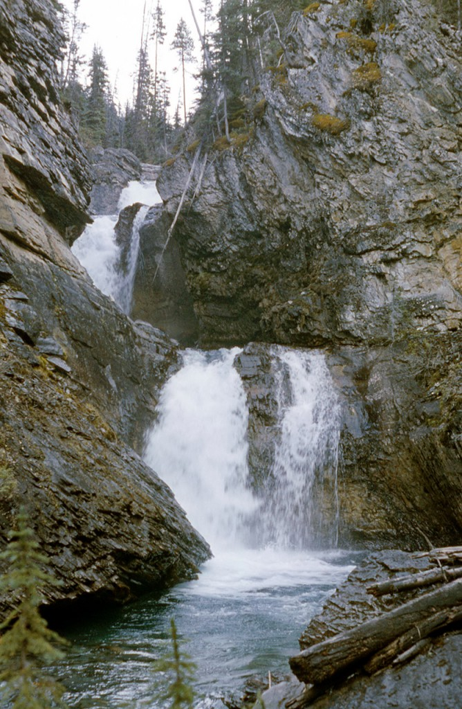 Falls on the Ottertail river - dads pick
