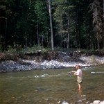 Fishing in Cottonwood river