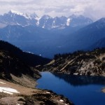 Hamilton lake and Ottertail range