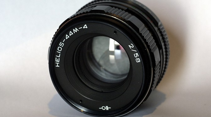 Helios 58mm F2 Lens Fungus Cleaning