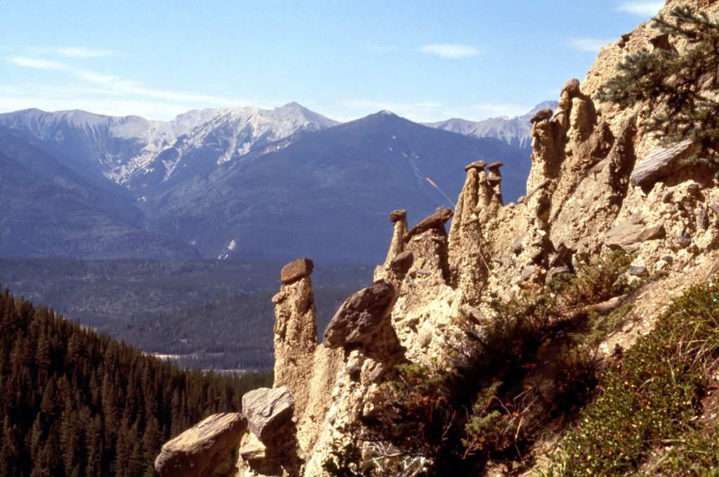 Hoodoos on Hoodoo creek - dads pick
