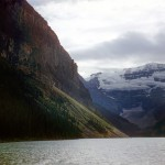 Lake Louise and Victoria glacier - Banff national park