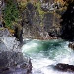 Little Qualicum river falls 2
