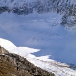 Mcarthur glacier on Mt Biddle