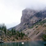 Moraine lake and Tower of Babel Mtn