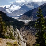 Mount Athabasca and its glacier - Jasper national park