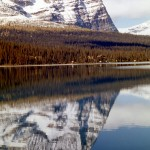 Mount Odaray reflected in Lake Ohara