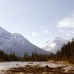 Mount Victoria, Mt Huber and Mt Vanguard - Yoho