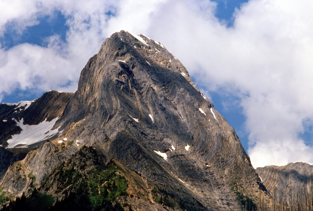 Mountain beside Amiskew valley - dads pick
