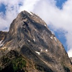 Mountain beside Amiskew valley