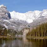 Mt Huber Lefoy and O'Hara lake - Yoho