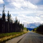 Near Kootenay crossing - Kootenay national park