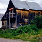 Old chinese house in Barkerville