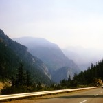 Saddle rock in the Fraser canyon