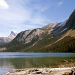 Sherbrooke lake, Mt Ogden, Mt Niles, and Mt Daly - Yoho
