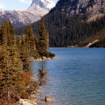 Sherbrooke lake, Mt Ogden and Mt Niles - Yoho