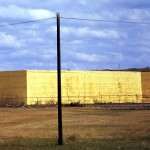 Straw bales on the prairie