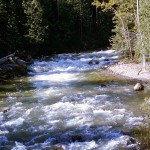 Stream near Creston