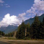 The Rogers pass highway