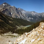 Trail to the Lodge at Mt Edith Cavell