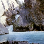 View of canyon on Kicking Horse River