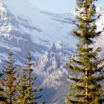 View of the mountains - Yoho national park