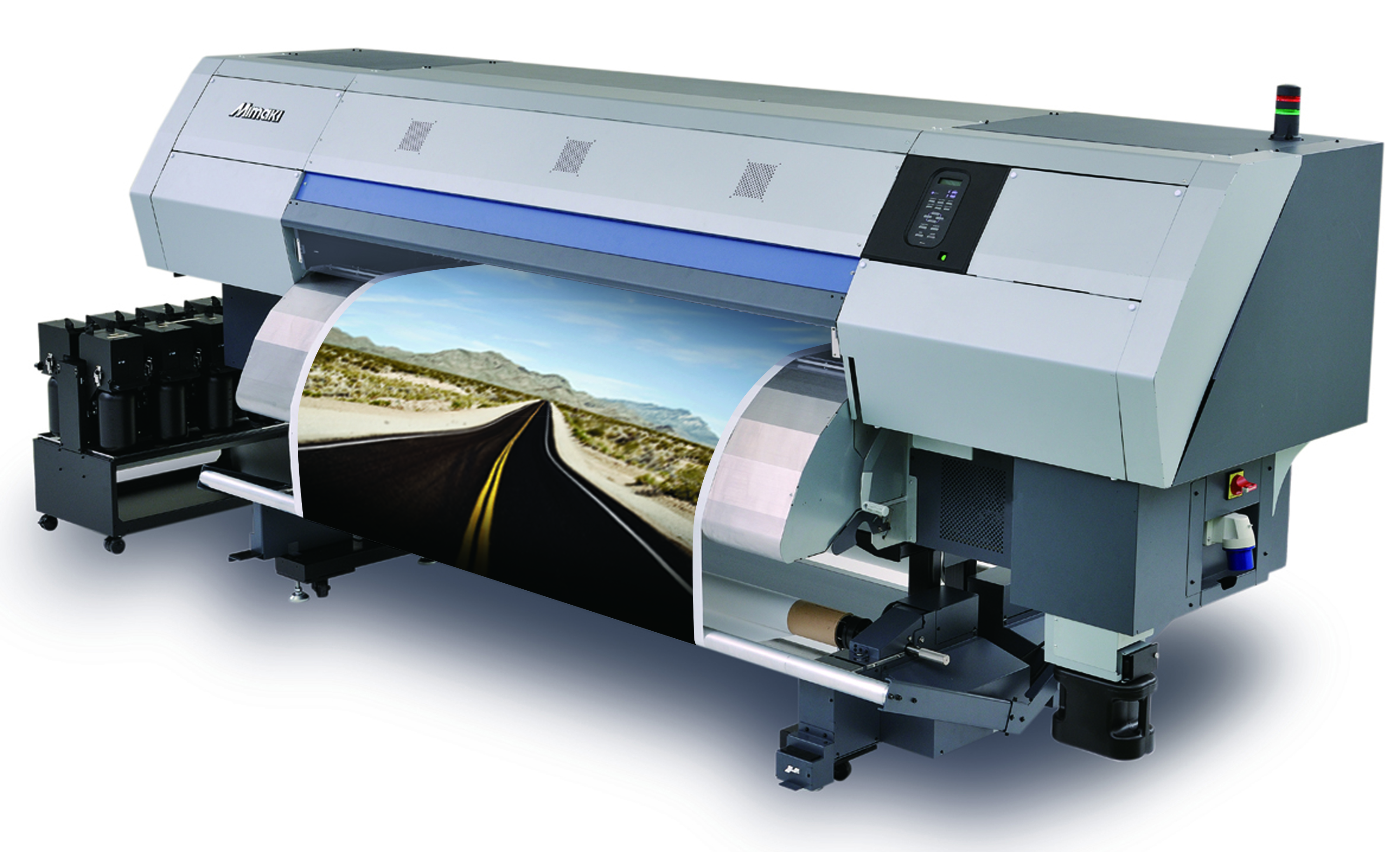 Dye sublimation photo printer