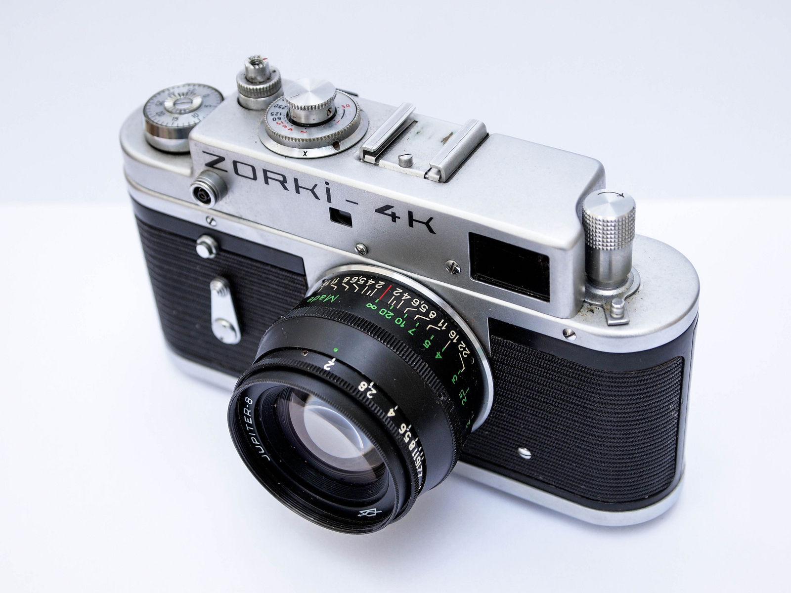 Zorki 4k 35mm film photo camera